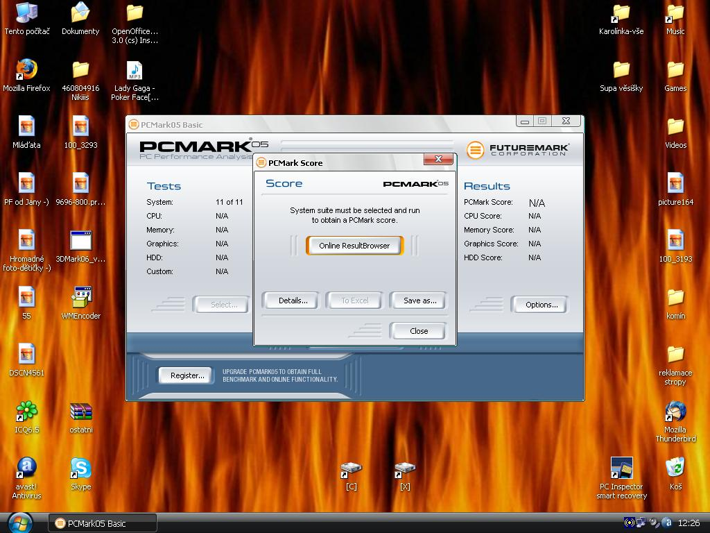 Error in PCMark05.JPG